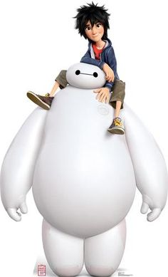 Advanced Graphics Disney's Big Hero 6 Baymax and Hiro Cardboard Standup Disney Animation, Disney Pixar, Film Disney, Disney And Dreamworks, Disney Art, Big Hero Baymax, Hiro Big Hero 6, The Big Hero, Big Hero 6 Characters
