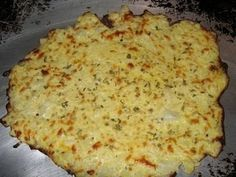 Cauliflower pizza crust  1 cup cooked, riced cauliflower*  1 egg  1 cup mozzarella cheese  1/2 tsp fennel  1 tsp oregano  2 tsp parsley