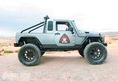 2007 Jeep Wrangler JK Unlimited Avenger Titetop Half Cab