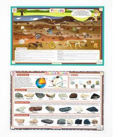 Look at this #zulilyfind! Fossils & Rocks & Minerals Activity Place Mat Set #zulilyfinds