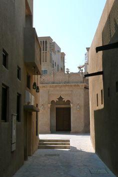 Bastakiya (Old Town), Dubai, street