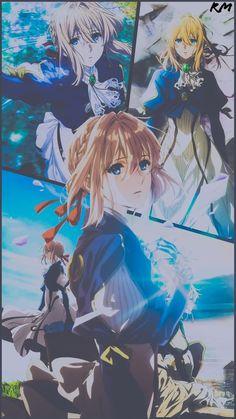 Violet Evergarden Wallpaper, Cute Anime Wallpaper, Cute Wallpaper Backgrounds, Anime Collage, Violet Evergreen, Violet Garden, Violet Evergarden Anime, Anime Ninja, Slayer Anime