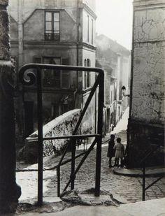 NICOLAS YANTCHEVSKY 1924-1972 Les enfants de Belleville, Passage Ronce, Paris, c