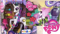 My Little Pony Mania Talking Princess Celestia 2015 Toys R Us Exclusive!