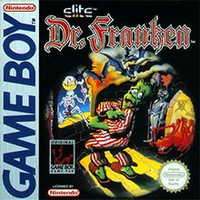 Dr. Franken - The Game Boy release of the game uses a password-based saving system to save the player's progress. The game consisted of seven floors where various items and parts of Bitsy (Franky's girlfriend) were hidden. Keys and special items were needed to access additional areas to find more body parts and equipment required to resurrect Bitsy.