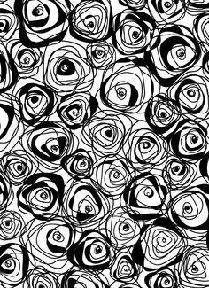portfolio   BEDDING  A black & white bedding design  By Sigal Ladenheim Black White Bedding, Bed Design, Black And White, Home, Texture, Black N White, Black White, Ad Home, Bed Designs