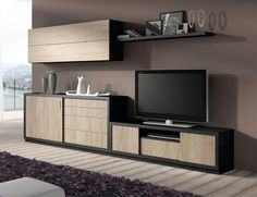 Contemporary Baixmoduls TV Unit, Sideboard and Wall Cabinet
