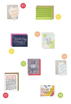 Cute curated cards!