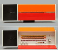 NordMende Spectra-Futura-Stereo, design by Raymond Loewy, 1968