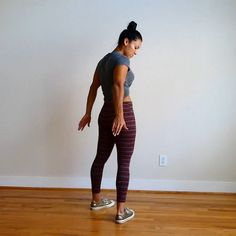 """4,622 Likes, 59 Comments - Carmen Morgan (@mytrainercarmen) on Instagram: """"Body Weight Booty Workout as requested. . 1️⃣Pulsing Knee Lunge: (focus on that squeeze, pressing…"""""""