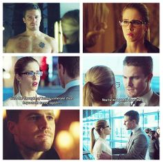 Arrow - Oliver & Felicity #2.13 #Season2 #Olicity