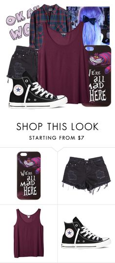 I need a hero by natsuko-yuuki on Polyvore featuring Monki, Converse and Disney
