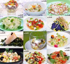 Doce recetas de ensalada sin lechuga Salad Recipes, Healthy Recipes, Puerto Rican Recipes, Portuguese Recipes, Bon Appetit, Pasta Salad, Vegan Vegetarian, Potato Salad, Spicy