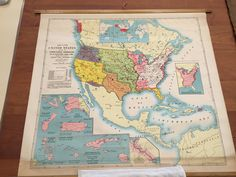 Bob Spencer found another great item, as he continues to clean up the storage vault, this one known only in the David Rumsey Collection. A map of the US made in 1904 for a judge in Richmond, Maine!