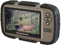 Stealth Cam SD Card Reader and Viewer with 4.3 LCD Screen, New, Free Shipping