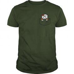 Cool Pocket Bulldog Shirts & Tees
