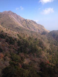 Japan, Nagasaki, Unzen  Mount Unzen one of the active volcanos in Japan