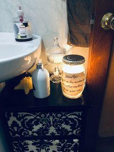 Mason Jar Lamp, Table Lamp, Home Decor, Blackberry, Table Lamps, Decoration Home, Room Decor, Home Interior Design, Lamp Table