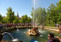 Fuentes de la Granja - Destino Castilla y León Dolores Park, Travel, Fonts, Palaces, Destiny, Naturaleza, Viajes, Destinations, Traveling