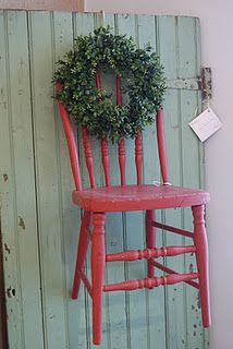 This would be fun to change seasonally (from The Cottage Gals)