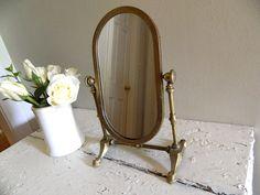Vintage Vanity  Mirror by alwaysmaybevintage on Etsy $39