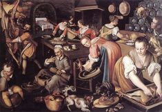 Medieval Europeans Didn't Have Tupperware, They Had Pastry Coffins Vincenzo Campi painted the hectic activities of Medieval kitchens.A coffin, spelled coffyn in 12th-century English, referred to self-standing pastry made from flour, water, and sometimes fat. Like a sort of medieval Tupperware, coffins preserved the foods they contained and were rarely eaten.