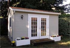 Serving the SF Bay Area – specializing in backyard sheds and shed studios – ideal for home & garden storage. Wood shed, garden shed, storage shed. Shed Office, Backyard Office, Outdoor Office, Backyard Studio, Backyard Sheds, Garden Sheds, Studio Fitness, Garden Storage Shed, Storage Sheds