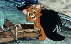 Oliver (voiced by (voiced by Joey Lawrence) is a homeless kitten who is taken in by a group of dogs in this Disney animated retelling of Oliver Twist entitled Oliver & Co. 2d Character Animation, Animation Film, Disney Animation, Disney Films, Disney Pixar, Old Disney Characters, Disney Wiki, Disney Nerd, Cartoon Characters