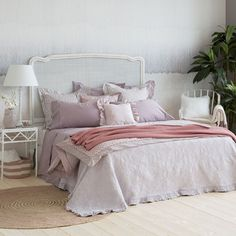FRILLED COTTON BEDSPREAD AND CUSHION COVER - Bedspreads - Bedroom | Zara Home United Kingdom