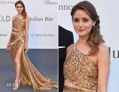 Olivia Palermo side bride