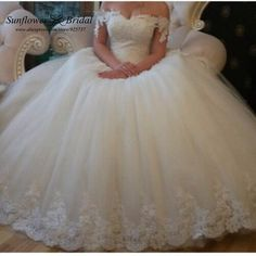 Find More Wedding Dresses Information about white wedding dress elegant Princess wedding dress 2015 pearl Ball Gown Wedding Dress plus size wedding dresses ivory real photo,High Quality dress puff,China dress slip resistant shoes Suppliers, Cheap dress k from Sunflower Bridal on Aliexpress.com