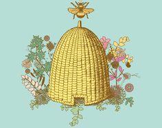 Mijn familiewapen: Honig 》de bijenkorf!!