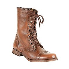 Troopa boots by Steve Madden / how cute would these be with a lacy white sundress? (and maybe a jean jacket)