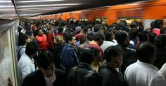 Subway- Rush hour - every weekday . Subway Rush, Rush Hour, México City, Falling In Love, People, Collages, Beautiful, Places, World