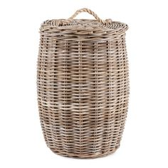 Rope Clothing Basket with Handle - Baskets - Decoration | Zara Home