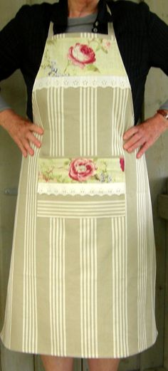 Apron / Tablier by Rosacabane on Etsy, $31.50