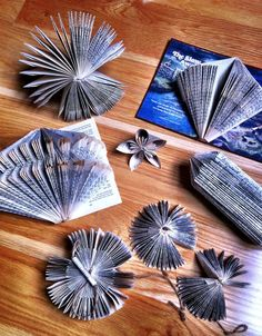 A selection of the fab book art & sculpture i've created and taught! booky booky folds :)
