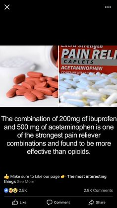 Idk about stronger than any opioid, but it works...except I take 800mg ibuprofen and 1000 of tylenol.