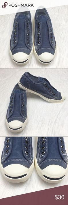 5192cf64e Lace-Free Jack Purcell Converse Sneakers 7.5 Brand  Converse Jack Purcell  Style Name