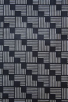 Abstract geometric pattern matchstick stamp- black and white Geometric Patterns, Line Patterns, Graphic Patterns, Geometric Designs, Cool Patterns, Abstract Pattern, Pattern Art, Motifs Textiles, Textile Prints