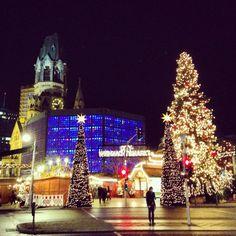 Christmas market Kurfürstendamm Berlin