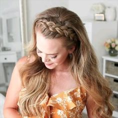 Braided Crown Hairstyles, Easy Hairstyles For Long Hair, Box Braids Hairstyles, Braids For Long Hair, Girl Hairstyles, Wedding Hairstyles, Headbands For Short Hair, Messy Short Hair, Hair Up Styles