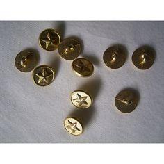 Metall  Knopf Knöpfe 10 stück silber schwarz    15 mm     #175#