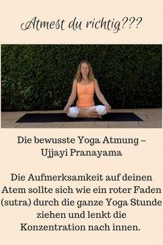Yoga Meditation, Atem Meditation, Pranayama, Auswirkungen Von Stress, Hatha Yoga, Lunge, Breathing Techniques, Yoga Art, Ayurveda