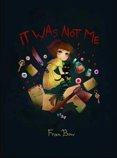 Havent seen Fran Bow art since all the lets plays finished Video Game Art, Video Games, Image Triste, Bow Quotes, Bow Games, Creepy Games, Bow Wallpaper, Bow Art, Sally Face Game