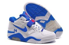 Nike Air Force 180 Mid Charles Barkley White/Photo Blue-Varsity Red For Sale