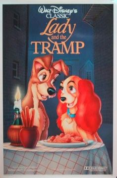 Lady and the Tramp (1955) <3 of course.