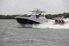 Deep Impact Boats Deep Impact Luxury Custom Center Console Boat Custom Center Console Boat Custom Boat Luxury Power Boat Solitaire