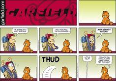 Garfield Comic Strip, June 05, 2016     on GoComics.com
