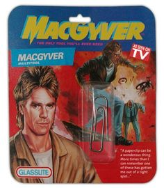 Amazing! LOL.. MacGyver was my childhood hero!